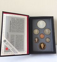 CANADIAN 1993 SET OF 7 COINS