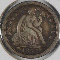 1853 10C ARROWS SEATED LIBERTY DIME EXTRA FINE 134553