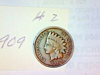 1909 INDIAN HEAD CENT LOT 2