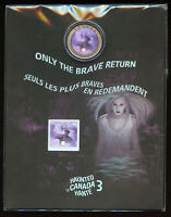 2016 RCM 25 CENTS HAUNTED CANADA BELL ISLAND COIN & STAMP SET