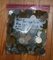 5 LBS. FOREIGN COIN MIX LOT   COINS FROM ALL OVER THE WORLD