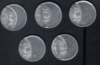 INDIA RE.1/   COIN  OFF CENTRE ERROR ..5 PC .TOP CONDITION
