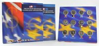 2002 THE 50 STATE QUARTERS & EURO COIN COLLECTON  655