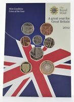 2012 UNITED KINGDOM 8 COIN MINT COLLECTION   THE ROYAL MINT