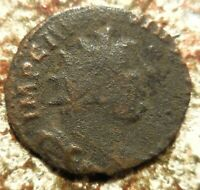CARAUSIUS. 287 293 AD. ANTONINIANUS RADIATE DRAPED AND CUIRASSED BUST RIGHT
