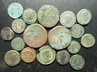 LOT OF 18 VF TO VF  ANCIENT ROMAN COINS: SHE WOLF AUGUSTUS AS DIOCLETIAN