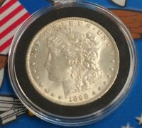 1898 O US MORGAN SILVER ONE DOLLAR COIN VAM CLASHING $1 AMERICAN VARIETY