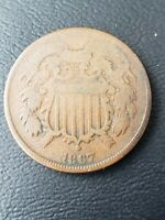 1867 TWO CENTS