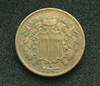 1867 2 CENTS