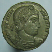 MINT STATE CONSTANTINE THE GREAT GLORIA EXERCITVS AE 3/4 FROM SISCIA