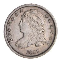 1831 CAPPED BUST DIME - CIRCULATED 9820