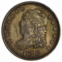 1832 CAPPED BUST HALF DIME - CIRCULATED 1709