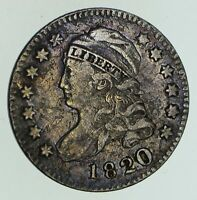 1820 CAPPED BUST DIME - CIRCULATED 4716