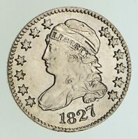 1827 CAPPED BUST DIME - CIRCULATED 5004