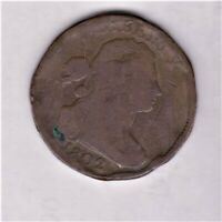 EARLY LARGE CENT 1802  GOOD DETAIL COLOR SHIPS FREE