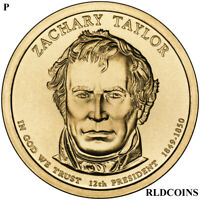 2009 P PRESIDENT ZACARY TAYLOR UNCIRCULATED PRESIDENTIAL DOLLAR  12P