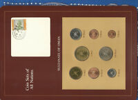 COIN SETS OF ALL NATIONS OMAN 1970 & 1980 UNC  SET 100 BAISA 1970 1390