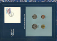 COIN SETS OF ALL NATIONS SWEDEN W/CARD UNC 5,1 KRONOR 1991 10 KRONOR,50 ORE 1992