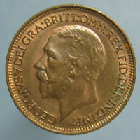 SHARP CHOICE UNCIRCULATED 1931 GEORGE V FARTHING