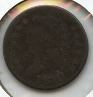 1810 CLASSIC HEAD BUST HALF CENT PENNY - BC348
