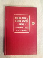 1974 A GUIDE BOOK OF UNITED STATES COINS RED BOOK 27TH EDITION YEOMAN