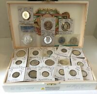 OLD COIN LOT OVER $5.00  FACE VALUE 90  SILVER  UNC / CIRCUL