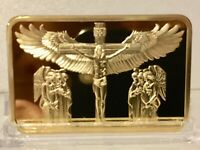 CLEARANCE COLLECTABLE RELIGIOUS JESUS CHRIST ANGILES GOLD PL