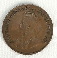 1925 CANADA ONE CENT COIN