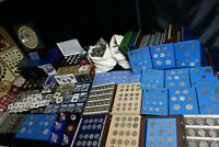 US COIN COLLECTION LOT 185 POUNDS SILVER OLD SETS & MORE ALL