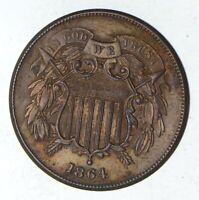 1864 TWO-CENT PIECE - CHOICE 9208