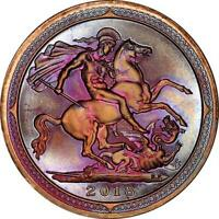2018 KNIGHTS OF THE COIN TABLE  KOTCT  39MM COPPER COLOR TONED MEDAL D. CARR