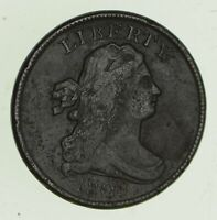 1808 DRAPED BUST HALF CENT - CIRCULATED 4700
