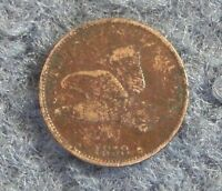 1858 SMALL LETTERS FLYING EAGLE HIGH-GRADE SMALL COPPER-NICKEL CENT COIN