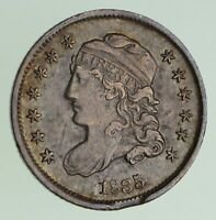 1835 CAPPED BUST HALF DIME - CIRCULATED 7198