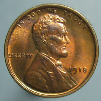 GEM TONED 1918 LINCOLN CENT