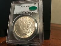REALLY  CLEAN GEM 1904-O MORGAN SILVER DOLLAR  PCGS MINT STATE 65 W/ CAC APPROVAL