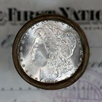 ONE   $20  UNCIRCULATED GEM BU  MORGAN SILVER DOLLAR ROLL 18