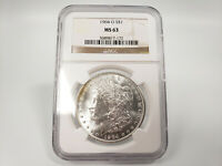 1904-O NGC MINT STATE 63 MORGAN SILVER DOLLAR ESTATE FIND 817-172