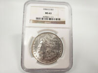 1904-O NGC MINT STATE 63 MORGAN SILVER DOLLAR ESTATE FIND 021-111