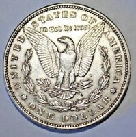 1894 MORGAN SILVER DOLLAR $1 COIN  1894-P   KEY DATE    EXTRA FINE  DETAILS