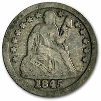 1845 SEATED LIBERTY DIME FINE - SKU52923
