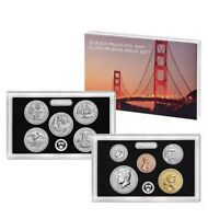 2018 S SAN FRANCISCO MINT SILVER REVERSE PROOF SET LIMITED MINTAGE SOLD OUT 18XC