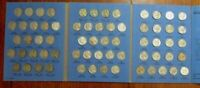 COMPLETE SET 1938 59 JEFFERSON NICKELS COLLECTION SILVER WAR 1950 D BULK & SAVE