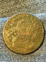 1802 DRAPED BUST HALF CENT 1/2 US KEY DATE WORN DATE AFFORDABLE LOT CC278