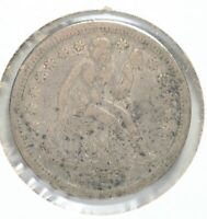 1859 SILVER SEATED LIBERTY DIME 10C COIN PHILADELPHIA MINT LF131