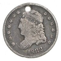 1832 CAPPED BUST HALF DIME   CHARLES COIN COLLECTION  842