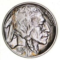 FULL HORN   HIGH GRADE   TOUGH   1923 BUFFALO NICKEL   SHARP