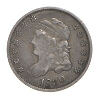 1830 CAPPED BUST HALF DIME 4594