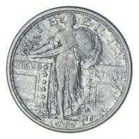 1917-S STANDING LIBERTY QUARTER - CIRCULATED 6055