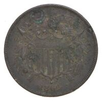 1864 TWO CENT PIECE   CHARLES COIN COLLECTION  669